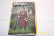 True Grit, Charles Portis USA 1968 hardcover W/jacket 1st Edition 1st printing