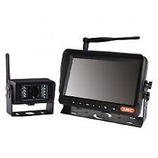 """KIT CCTV Wireless - 7"""" COLORI MONITOR TFT DA a infrarossi con suono - 12/24V"""