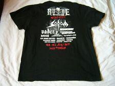V.A. SODOM,VADER,MANOS,DEBAUCHERY… - rare old 2011 R.U.D.E. Festival T-Shirt!!