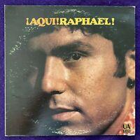 RAPHAEL Aqui LP UA LATINO Stereo Latin Funk Soul BREAKS EX