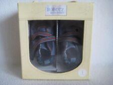 ROBEEZ Mini Shoez Shoes Wrecking Crew Navy Blue 6-9m US 3