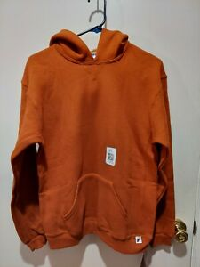 NWT. RUSSELL ATHLETIC RUST COLOR HOODIE. YOUTH XL.