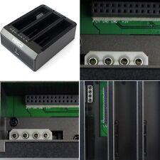 "USB 3.0 2.5""& 3.5'' IDE+ SATA 3 Bay Hard Drive HDD Docking Station OTB/OTC CO"