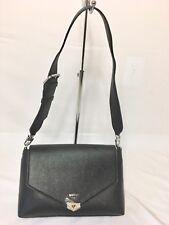 0a7d70193e68 Guess Lottie Medium Shoulder Bag – Black New