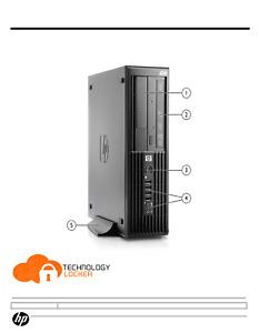 HP Z200 SFF Workstation Intel Core i5-650 @3.20GHz  8GB RAM 500GB HDD Windows 10