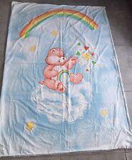 Cubierta de cama de edredón Vintage Care Bears 80s Retro alegría oso Arco Iris Tela Patchwork