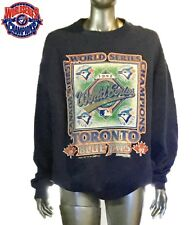 Toronto Blue Jays 1992 World Series Champions Sweatshirt - Size XL, Blue