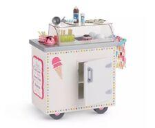 American Girl bambola Truly Me ice cream cart nuovo con scatola (no Bambola)
