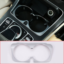 For Mercedes Benz C E GLC Class W205 W213 2015-2019 Water Cup Holder Cover Trim