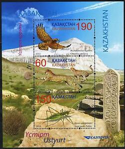 2013.Kazakhstan.Animals. Wildlife of the Ustyurt Game Reserve. Sc.713. S/sh. MNH
