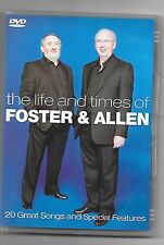 Foster And Allen The Life And Times DVD Original UK Release Brand New Sealed R2