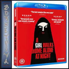 A GIRL WALKS HOME ALONE AT NIGHT - Sheila Vand *BRAND NEW  BLU-RAY ***