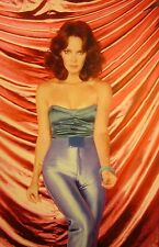 JACLYN SMITH clipping Charlie's Angels sexy color photo 1980 boob tube fashion