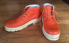 Havana Joe/Panama Jack, Chaka Orange Ankle Boots. 45, 11.5 simuler to Timberland