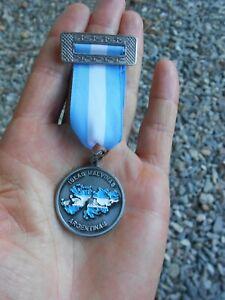 FALKLANDS WAR MERIT medal Argentina Congress ISLAS MALVINAS Economic issue