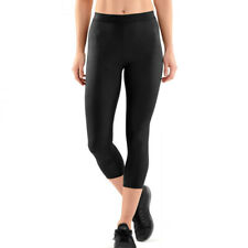 Skins Womens DNAmic Compression 7/8 Tights Bottoms Pants Trousers Black Sports