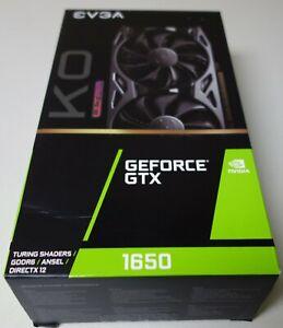 EVGA GeForce GTX 1650 KO ULTRA GDDR6 GAMING, 04G-P4-1457-KR, 4GB GDDR6, Dual Fan