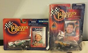 Winner's Circle John Force 1997 Funny Car and Elvis Edition Lot of 2