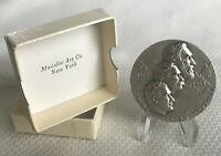 1964 Montana Territorial Centennial Statehood Diamond Jubilee Silver Medallion