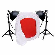 "CowboyStudio Premium Photo Studio Reflector Tent Table Top Lighting Kit with 24"""