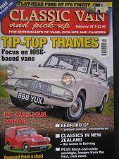 Classic Van & Pick-Up February 2015 Ford Thames 105E 300E Minor Bedford CF