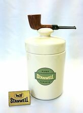 Stanwell Filterpfeife mit Keramiktopf / Pipe with filter and ceramic jar