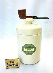Stanwell Filterpfeife mit Keramiktopf / Pipe with filter and ceramic jar