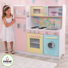 KIDKRAFT DELUXE CULINARY PASTEL WOODEN PLAY KITCHEN CHILDS GIRLS BOYS TOY BNIB