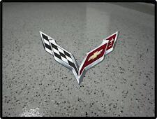 Corvette Chevy Stingray Z06 Garage floor Sticker Decal Man Sport Luxury Race Car