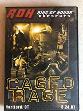 Ring Of Honor DVD Caged Rage ROH Kevin Owens Cesaro Sami Zayn Daniel Bryan 2007
