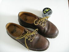 DR. MARTENS DOC Brown Leather Lace Up Shoes Men's US 7  MADE IN ENGLAND