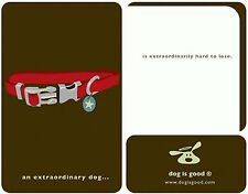 Canine Sympathy Card with Envelope DOG IS GOOD NIP **FREE SHIPPING**