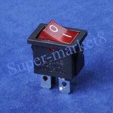 4PC Red Light Rocker Switch 4pin 10A125V 5A250V ON-OFF