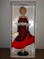 "Franklin Mint Marilyn Monroe Vinyl Doll "" Don't Bother To Knock"" New with COA."