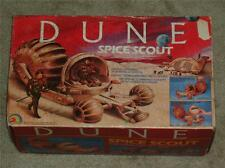 Vintage 1984 DUNE SPICE SCOUT LJN TOYS MIB 100% COMPLETE VEHICLE inserts AFA IT!