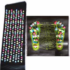 "Foot Massage Mat Massager Plastic Stone Pad 67"" * 13.7"" Fitness Walking Carpet"