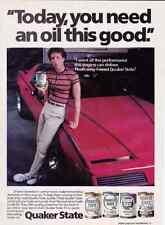 1983 PONTIAC FIREBIRD TRANS AM  ~  NICE QUAKER STATE AD