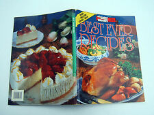 BESTEVER RECIPES Australian Womens Weekly 128 pages p/b Food & Wine English vgc