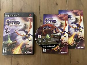 PS2 PlayStation 2 The Legend Of Spyro Dawn Of The Dragon Activision CIB Complete