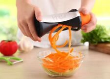 Spiral Slicer Cutter Vegetable Fruit Spiralizer Twister Peeler 4 size Blades