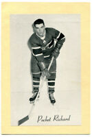 1945-64 Beehive Grp 2 Henri Pocket Richard Card Montreal Canadiens Nice Clean
