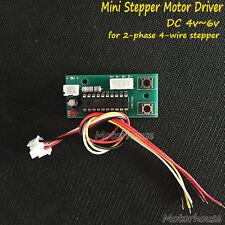 DC 5v 2-phase 4-wire stepper motor Driver CCW CW Forward Backward control