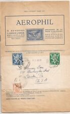 """Belgium-""""Aerophil 34;-1951 issue (16 pages)-stamps & prices-to U.S."""