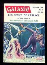 Galaxie n°6, octobre 1964 Les récifs de l'espace + Dick, Knight, Young, Leiber