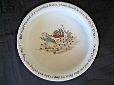 RATE Wedgwood Etruria PETER RABBIT Beatrix Potter Baby Dish Made In England MINT