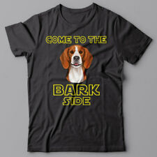 BEAGLE dog T-shirt COME TO THE BARK SIDE - dark side we have cookies
