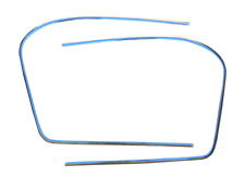 Genuine XJ6 Series1 Front Screen Chromed Plated Finishers part no: BD31158/9