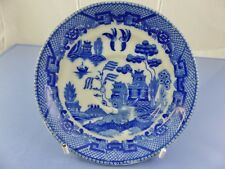 BLUE WILLOW SAUCER for tea cup BY MARUTA CHINA OCCUPIED JAPAN