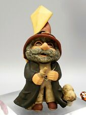Gnomes Sleepy Hollow Figurine 1989 Bachwurks Holland Studio Kite Flying Fun