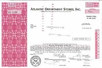 Atlantic Department Stores Inc > 1971 New York old stock certificate share